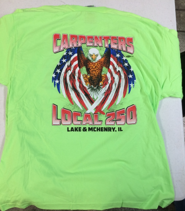 Carpenters Local 250 Shirt