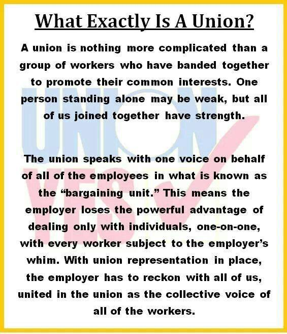 What Exactly Is a Union?
